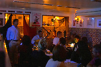Fado in a restaurant in Alfama district. Lisbon, Portugal