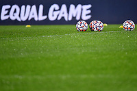 Some official Adidas champions league balls are seen during the Champions League Group Stage F football match between SS Lazio and Club Brugge at stadio Olimpicoin Rome (Italy), December, 8th, 2020. Photo Andrea Staccioli / Insidefoto