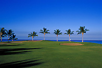 Waikaloa beach golf course hole #12, Big Island