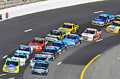 NASCAR Camping World Truck Series<br /> UNOH 175 <br /> New Hampshire Motor Speedway<br /> Loudon, NH USA<br /> Saturday 23 September 2017<br /> Christopher Bell, SiriusXM Toyota Tundra and Matt Crafton, Great Lakes Floors/Menards Toyota Tundra<br /> World Copyright: Nigel Kinrade<br /> LAT Images