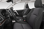 Front seat view of 2018 Toyota Land-Cruiser-150 Style 3 Door SUV Front Seat  car photos