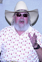 06 July 2020 - Country music and southern rock legend Charlie Daniels has passed away after suffering a stroke. The Grand Ole Opry member and Country Music Hall of Famer was 83. File Photo: July 21, 2002, Wheeling, WVA, USA, Singer CHARLIE DANIELS performs  during Country Fest.