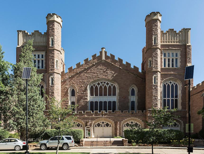Macky Auditorium, University of Colorado, Boulder, Colorado, USA.