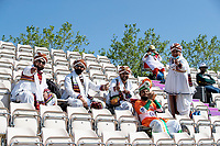 Plenty of colourful support for India during India vs New Zealand, ICC World Test Championship Final Cricket at The Hampshire Bowl on 23rd June 2021
