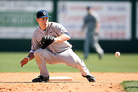 February 20, 2009:  Shortstop Mike Olt (22) of the University of Connecticut during the Big East-Big Ten Challenge at Jack Russell Stadium in Clearwater, FL.  Photo by:  Mike Janes/Four Seam Images