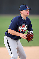 January 17, 2010:  Kevin Koziol (Orland Park, IL) of the Baseball Factory American Team during the 2010 Under Armour Pre-Season All-America Tournament at Kino Sports Complex in Tucson, AZ.  Photo By Mike Janes/Four Seam Images
