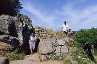 Prähistorische Ausgrabungen von Filitosa, Torreanisches Westmonument, Korsika, Frankreich