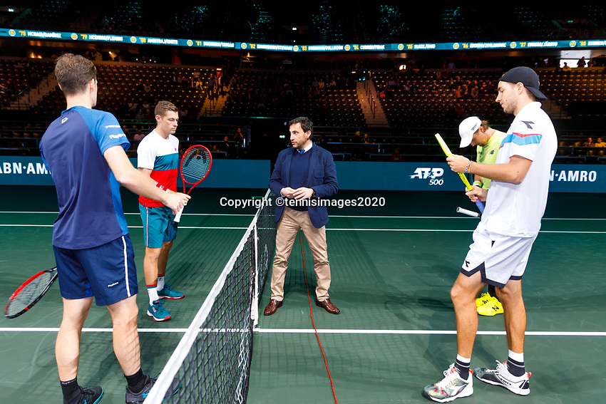 Rotterdam, The Netherlands, 14 Februari 2020, ABNAMRO World Tennis Tournament, Ahoy,  <br /> Photo: www.tennisimages.com