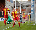 04.05.2018 Partick Thistle v Ross County: Chris Erskine celebrates his opening goal