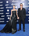 """Angelina Jolie and Brad Pitt attends The World Premiere of Disney's """"Maleficent"""" held at The El Capitan Theatre in Hollywood, California on May 28,2014                                                                               © 2014 Hollywood Press Agency"""