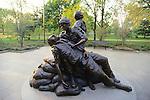 Woman's Vietnam Memorial Statue