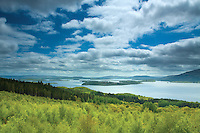 Dun Maoil above Sallochy Woods, Loch Lomond and the Trossachs National Park