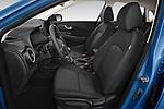 Front seat view of 2021 Hyundai Kona Techno 5 Door SUV Front Seat  car photos