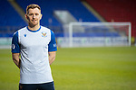 St Johnstone's Liam Craig wearing the commorative 30 years at McDiarmid Park T-shirt<br />