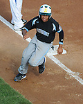 14 August 10: Joey Casillas rounds third base during Ocala, Florida's 15-1 win in the Cal Ripken Babe Ruth World Series 12U Majors in Aberdeen, Maryland