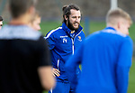 St Johnstone Training….21.10.20     <br />Stevie May pictured during training at McDiarmid Park ahead of Saturday's game against Dundee United.<br />Picture by Graeme Hart.<br />Copyright Perthshire Picture Agency<br />Tel: 01738 623350  Mobile: 07990 594431