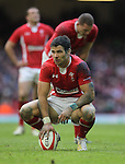 A dejected Mike Phillips after Wales lose out to Ireland in the opening match of the 6 Nations..RBS 6 Nations.Wales v Ireland.Millennium Stadium.02.02.13.©Steve Pope-SPORTINGWALES