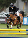 Spain's jockey Gonzalo Anon with the horse Upaya during 102 International Show Jumping Horse Riding, King's College Trophy. May, 20, 2012. (ALTERPHOTOS/Acero)