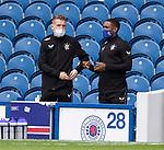 25.07.2020 Rangers v Coventry City: Steven Davis and Jernain Defoe