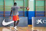 Ilimiane Diop during the training of Spanish National Team of Basketball. August 06, 2019. (ALTERPHOTOS/Francis González)