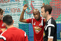Pictured: Dwight Tiendalli. Thursday 03 July 2014<br />