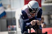 Julien Bernard (FRA/Trek - Segafredo)<br /> <br /> Stage 20 (ITT) from Libourne to Saint-Émilion (30.8km)<br /> 108th Tour de France 2021 (2.UWT)<br /> <br /> ©kramon
