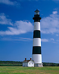 Cape Hatteras National Seashore, NC<br /> Bodie Island Lighthouse (1872) located on the Outer Banks of North Carolina