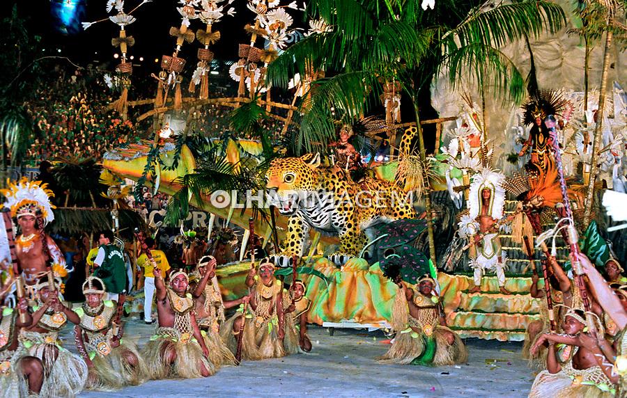 Festival Folclórico de Parintins. Amazonas. 2001. Foto de Catherine Krulik.