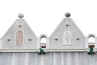 Dettaglio della facciata del Fondaco dei Turchi, (Fontego dei Turchi), sede del Museo Civico di Storia Naturale a Venezia.<br /> Detail of the facade of the Fondaco dei Turchi (Fontego dei Turchi), house of the Natural History Museum in Venice.<br /> UPDATE IMAGES PRESS/Riccardo De Luca