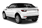 Car pictures of rear three quarter view of 2017 Land Rover Range-Rover-Evoque HSE-Dynamic 2 Door SUV Angular Rear