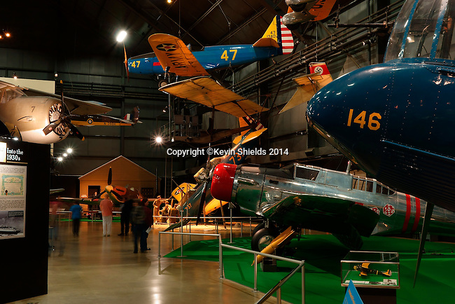 Aircraft on display at the National Museum of the United States Air Force, Dayton, Ohio, USA