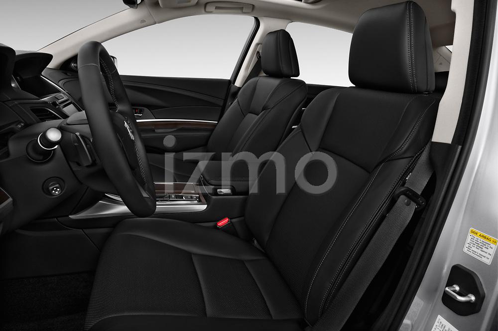 Front seat view of 2014-2016 Acura RLX Base 4 Door Sedan front seat car photos