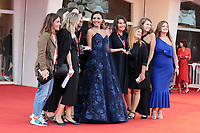 VENICE, ITALY - SEPTEMBER 11: Patroness of the festival Serena Rossi attends the closing ceremony red carpet during the 78th Venice International Film Festival on September 11, 2021 in Venice, Italy. <br /> CAP/MPI/AF<br /> ©AF/MPI/Capital Pictures
