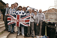 Fans of Barking FC are seen at Banbury United Football Club - 23/09/89 - MANDATORY CREDIT: Gavin Ellis/TGSPHOTO - Self billing applies where appropriate - Tel: 0845 094 6026