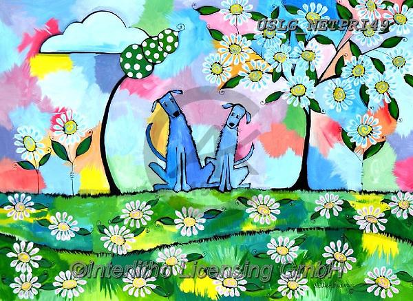 Nettie,REALISTIC ANIMALS, REALISTISCHE TIERE, ANIMALES REALISTICOS, paintings+++++Jenny&BennyintheField,USLGNETPRI49,#A#, EVERYDAY pop art
