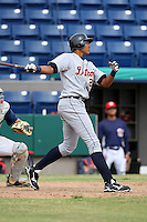 October 5, 2009:  Outfielder Steven Moya of the Detroit Tigers organization during an Instructional League game at Space Coast Stadium in Viera, FL.  Photo by:  Mike Janes/Four Seam Images