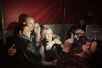After racing for the very last time on his home course, Sven Nys (BEL/Crelan-AAdrinks) joins his fans in the (packed) big tent and fires up the place. Many fans want to take pics with him and Sven kindly goes along.<br /> <br /> GP Sven Nys 2016