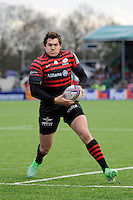 Alex Goode of Saracens in action during the Heineken Cup Round 6 match between Saracens and Connacht Rugby at Allianz Park on Saturday 18th January 2014 (Photo by Rob Munro)