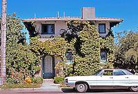 Irving Gill: Teats Cottage #3. 3407 Albatross, San Diego. 1912. (Photo  '78)