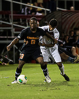 The Winthrop University Eagles lose 2-1 in a Big South contest against the Campbell University Camels.  Ben Iiames (13), Charles-Karin Hunte (15)