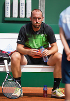 10-07-13, Netherlands, Scheveningen,  Mets, Tennis, Sport1 Open, day three, Colin Ebelthite (AUS)<br /> <br /> <br /> Photo: Henk Koster