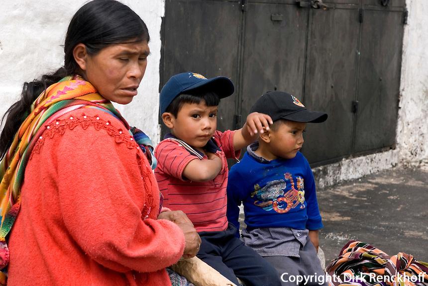 Guatemala, auf dem Markt in Chichicastenango