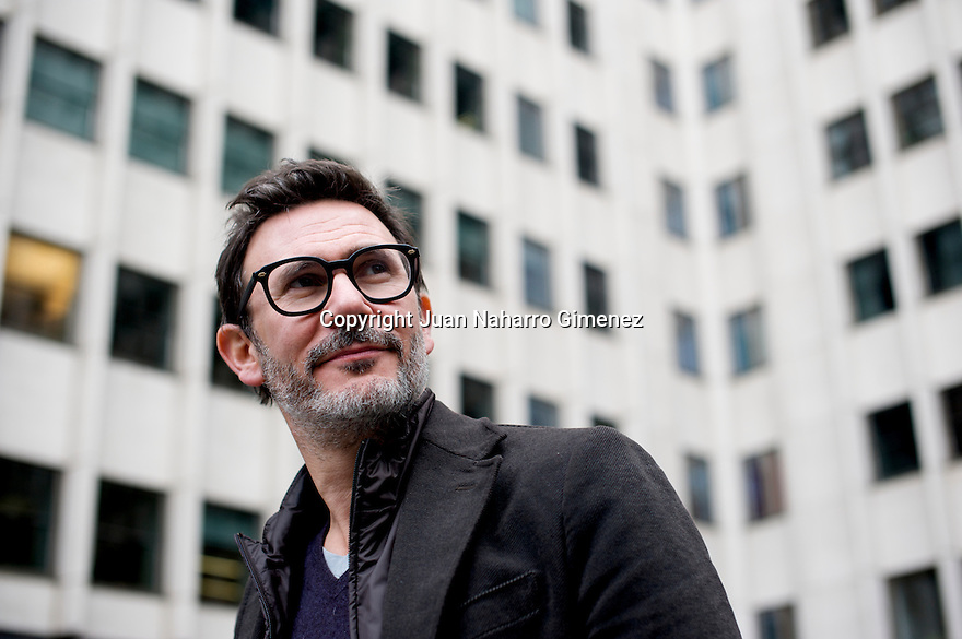Michel Hazanavicius poses during a portrait session on December 13, 2011 in Madrid, Spain.