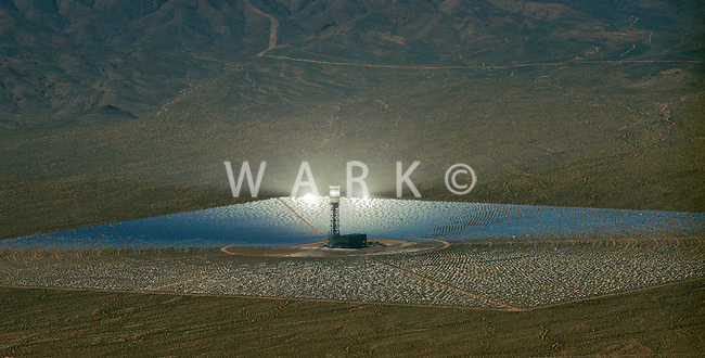 Ivanpah solar plant, eastern California. March 2014.
