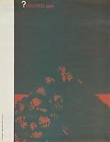 ?000,000 Душ. <br /> Perestroika Era Poster series, circa 1980-1989