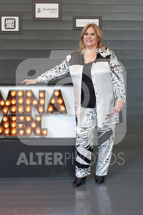 Spanish actress Carmina Barrios poses during `Carmina y amen´ film premiere photocall at Cineteca Matadero in Madrid, Spain. April 28, 2014. (ALTERPHOTOS/Victor Blanco)