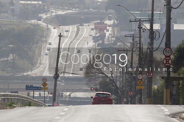Campinas (SP), 26/08/2021 - Av Jonh Boyd Dunlop, placas de sinalizacao de velocidade