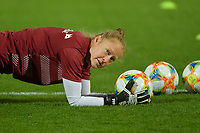 Swis goalkeeper Seraina Friedli  pictured during a female soccer game between the national teams of Belgium , called the Red Flames and Switzerland on the 8 th and last matchday in group H for the qualification for the Womens EURO 2022 in England , on Tuesday 1 th of December 2020  in Leuven , Belgium . PHOTO SPORTPIX.BE   SPP   DIRK VUYLSTEKE
