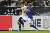 Niklas Süle (Deutschland Germany) gegen Alexander Ring (Finnland) - Deutschland vs. Finnland, Borussia Park, Mönchengladbach