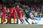Stoke City vs HKFA U-21 during the Main tournament of the HKFC Citi Soccer Sevens on 22 May 2016 in the Hong Kong Footbal Club, Hong Kong, China. Photo by Li Man Yuen / Power Sport Images